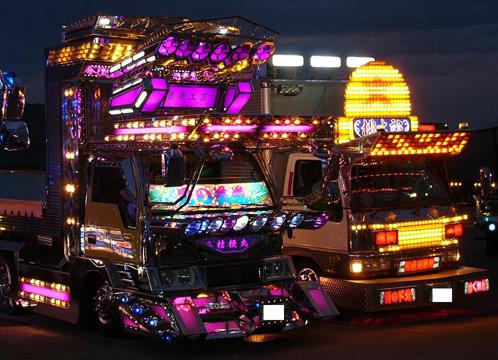 Camiones Japoneses Dekotora