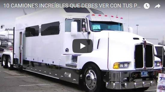 10 Camiones Increibles que debes ver con tus propios ojos