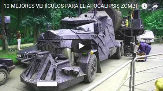 10 Mejores Vehiculos para el Apocalipsis Zombi