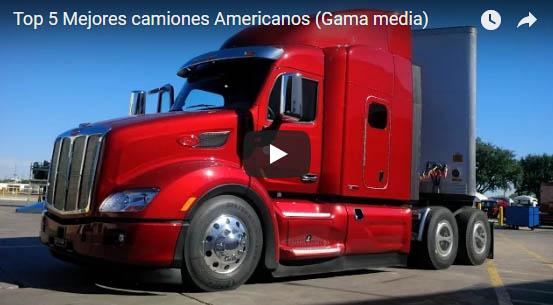 Top 5 Mejores camiones Americanos Gama media