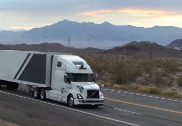 Uber Camiones sin conductor