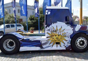 Camion de la Formula Truck