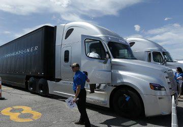 EEUU estrena los camiones sin conductor