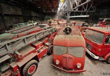 Camiones Bomberos Abandonados