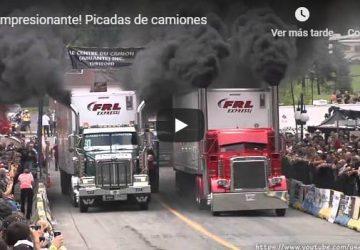 Impresionante Picadas de camiones